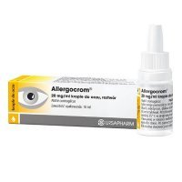 Allergocrom 20mg/ml, krople do oczu, 10ml