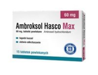 Ambroksol Hasco Max 60mg, 15 tabletek