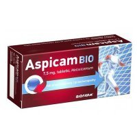 Aspicam Bio 7,5mg, 20 tabletek