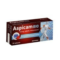 Aspicam Bio 7,5mg, 30 tabletek