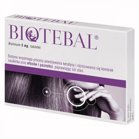 Biotebal 5mg, 60 tabletek