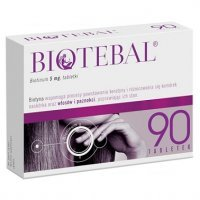 Biotebal 5mg, 90 tabletek