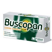 Buscopan 10mg, 10 tabletek