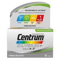 Centrum Silver 50+ od A do Z, 30 tabletek