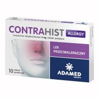 Contrahist Allergy 5mg, 10 tabletek