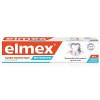 Elmex Caries Protection Whitening, pasta do zębów wybielająca, 75ml