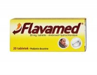 Flavamed 30mg, 20 tabletek KRÓTKA DATA 04/2021
