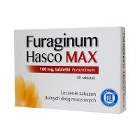 Furaginum Hasco Max 100mg,  30 tabletek