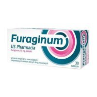 Furaginum US Pharmacia 50mg, 30 tabletek