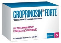 Groprinosin Forte 1000mg, 30 tabletek