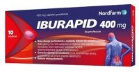 Iburapid 400mg, 10 tabletek