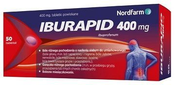 Iburapid 400mg, 50 tabletek
