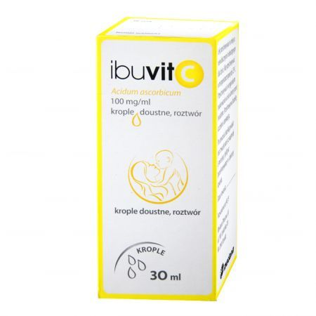 Ibuvit C 100mg/ml, krople doustne, 30ml