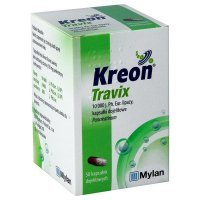 Kreon Travix 10000 j.Ph.Eur., 50 kapsułek