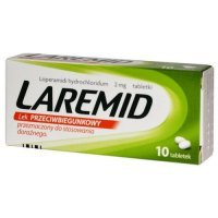 Laremid 2mg, 10 tabletek