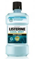 Listerine Cool Mint, Mild Taste, płyn do płukania jamy ustnej, 250ml