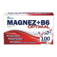 Magnez + B6 Optimal, 100 tabletek