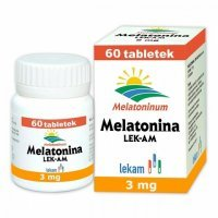Melatonina LEK-AM 3mg, 60 tabletek