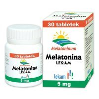 Melatonina LEK-AM 5mg, 30 tabletek