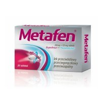 Metafen (200mg+325mg), 20 tabletek