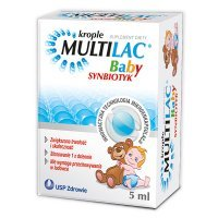 Multilac  Baby Synbiotyk, krople, 5ml