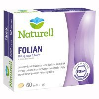 Naturell, Folian, 60 tabletek