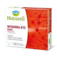 Naturell, Witamina B12 Forte, 60 tabletek do ssania