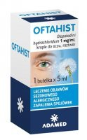 Oftahist 1mg/ml, krople do oczu, 5ml