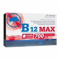 Olimp Labs, B12 Max, 60 tabletek