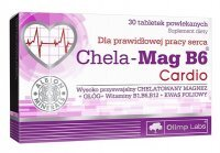 Olimp Labs, Chela-Mag B6 Cardio, 30 tabletek