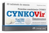 Olimp Labs, CynkoVir Immuno, 30 tabletek do ssania