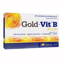 Olimp Labs, Gold-Vit B Forte, 60 tabletek