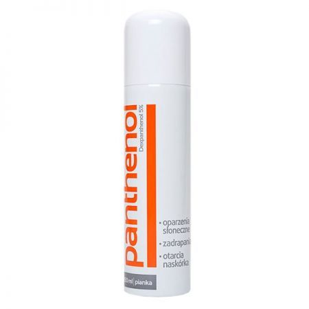 Panthenol 5%, pianka, 150ml