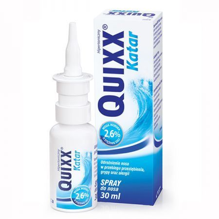 Quixx Katar, spray do nosa, 30ml